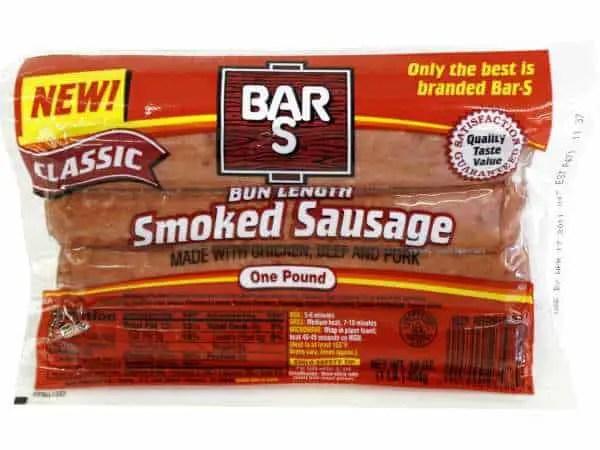 BarS Smoked Sausage