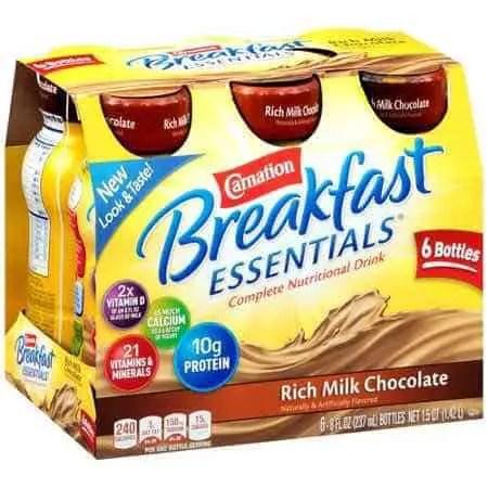 Carnation Breakfast Essentials Drink Printable Coupon