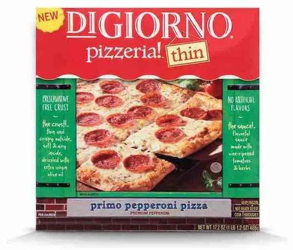 DIGIORNO pizzeria!™ thin pizza Printable Coupon