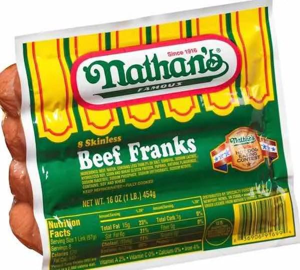 Nathan's Beef Franks Printable Coupon