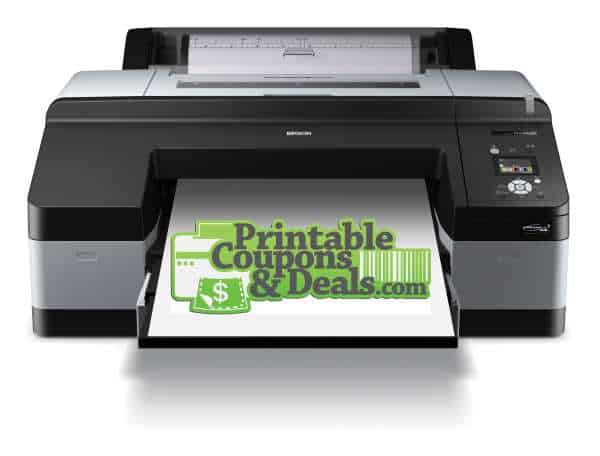 Printable Coupons and Deals Printer