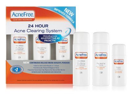 AcneFree 24HR Cleaning Printable Coupon