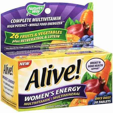 Alive Multivitamin Printable Coupon