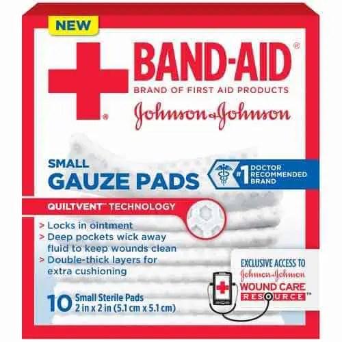 Band-Aid Gauze Pads Printable Coupon