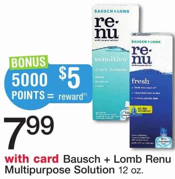 Baucsh + Lomb Renu Printable Coupon
