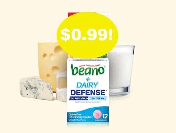 Beano Dairy Defense Printable Coupon