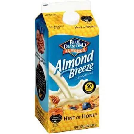 Blue Diamond Almond Breeze Almondmilk Hint Of Honey Printable Coupon