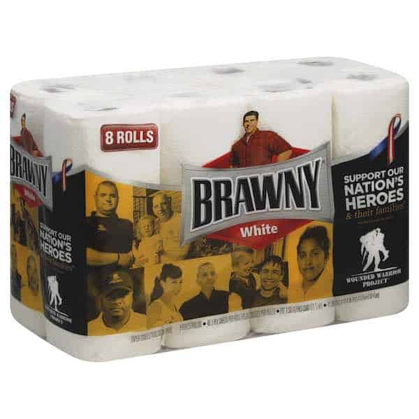 Brawny Paper Towels 8pack Printable Coup