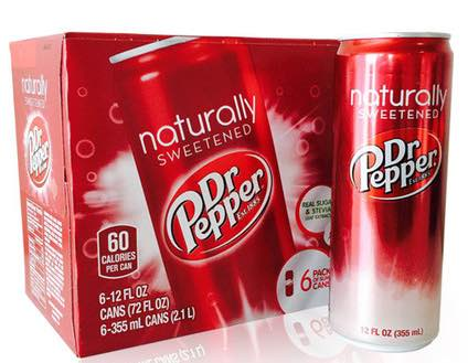 Dr. Pepper Naturally Sweetened Printable Coupon