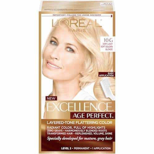 L'Oreal Paris Excellence Age Perfect Hair Color Printable Coupon