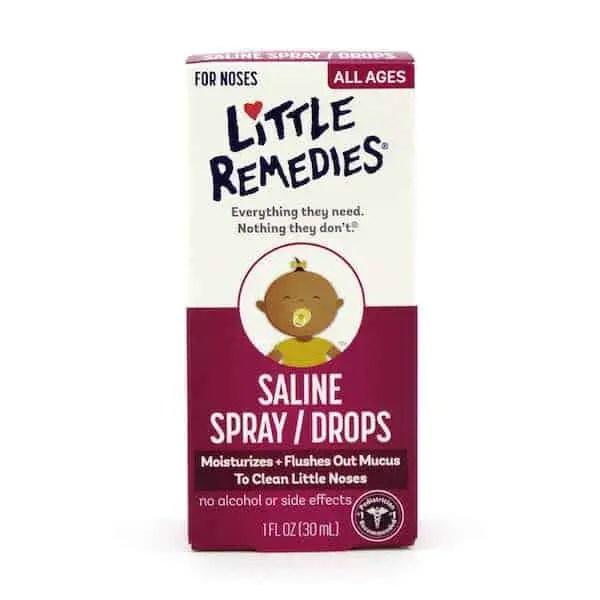 Little Remedies Saline Spray Printable Coupon