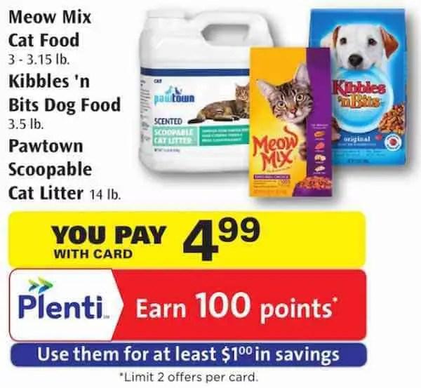 Meow Mix Cat Food Printable Coupon