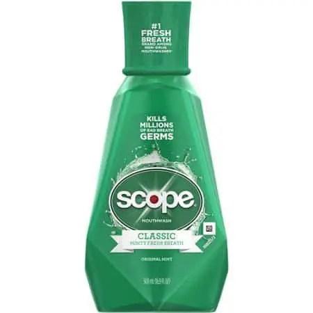 Scope Mouthwash Printable Coupon