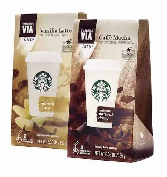 Starbucks VIA Printable Coupons