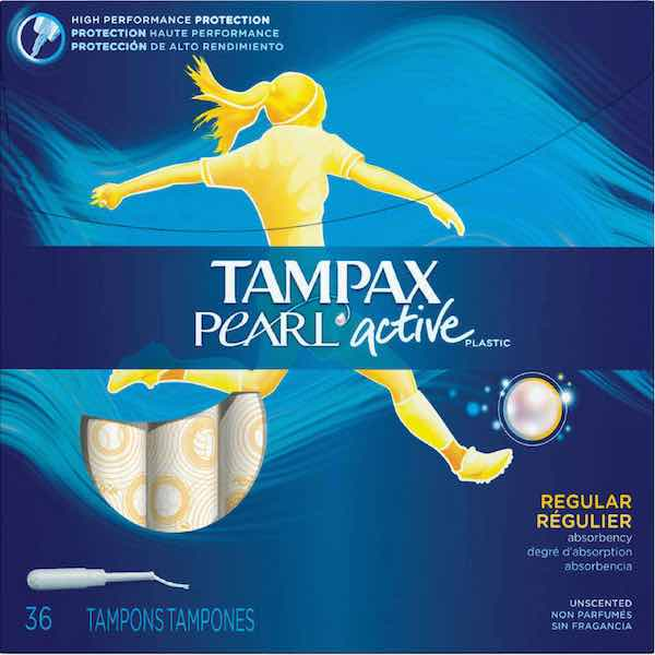 Tampax Pearl Active Printable Coupon
