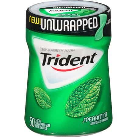 Trident Unwrapped gum Printable Coupon