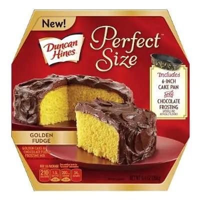 Duncan Hines Perfect Size Cake Mix Printable Coupon