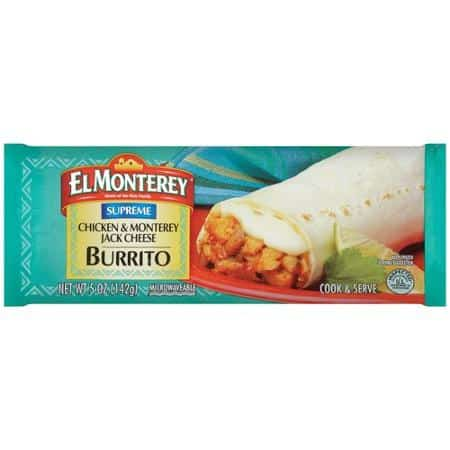 El Monterey Chick and Cheese Burrito Printable Coupon