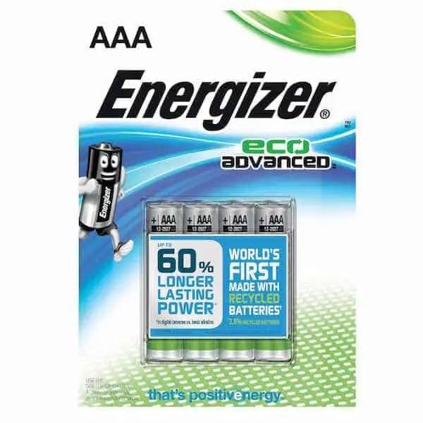 Energizer EcoAdvanced Batteries Printable Coupon