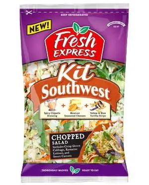 Fresh Express Chopped Salad Kit Printable Coupon