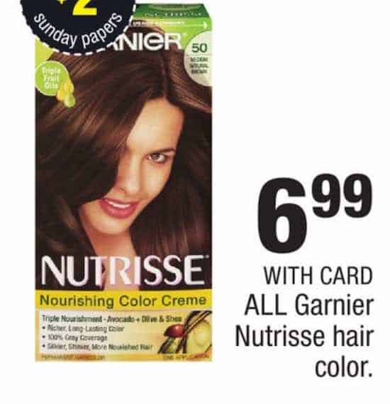 Garnier Haircolor Products Printable Coupon
