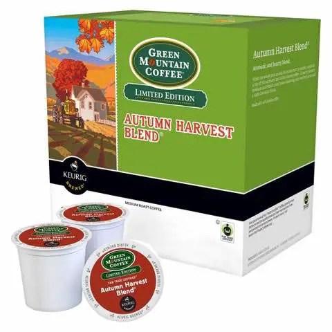 Green Mountain Coffee Autumn Harvest Blend Printable Coupon