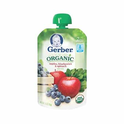 Gerber Organic 2nd Foods Printable Coupon