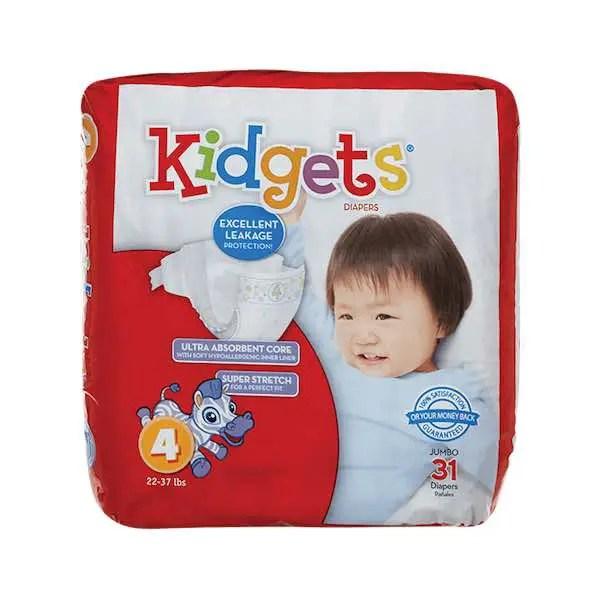 Kidgets Diapers Printable Coupon