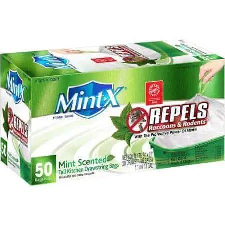 Mint-X Rodent Reppellent Trash Bags