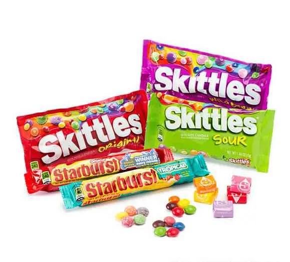 Skittles and Starburst Printable Coupon