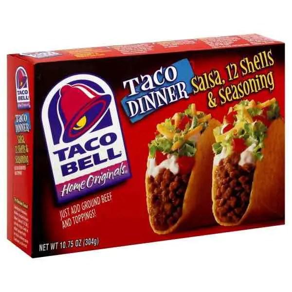 Taco Bell Dinner Kit Printable Coupon