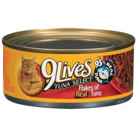 9Lives Wet Cat Food Printable Coupon