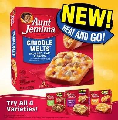 Aunt Jemima Griddle Melt Printable Coupon