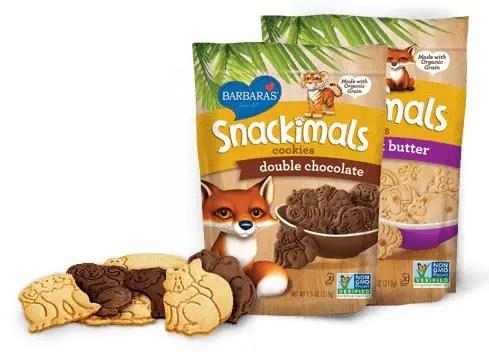 Barbara's Snackimals Products Printable Coupon