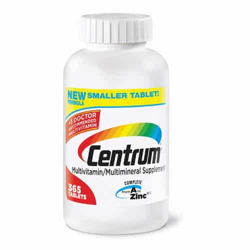 Centrum Multivitamin Printable Coupon