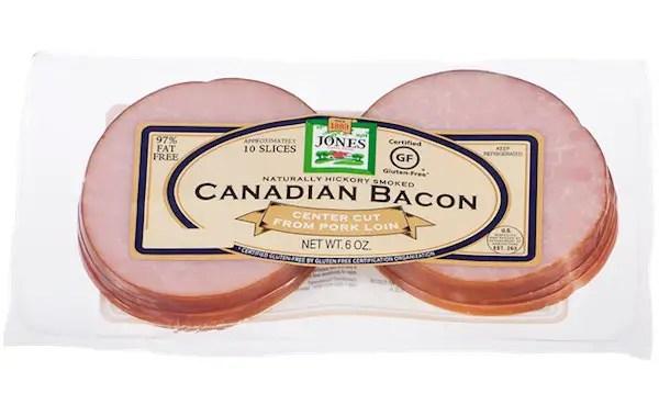 Jones Dairy Canadian Bacon Printable Coupon