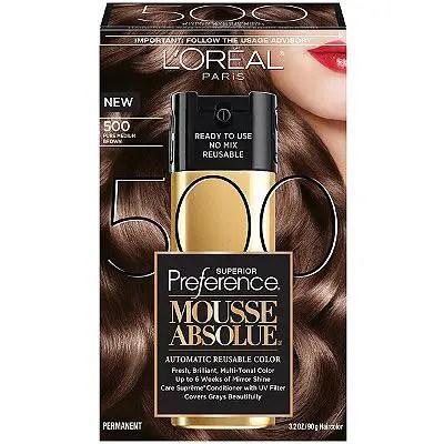 L'Oréal Paris Preference Mousse Absolue Hair Color Product Printable Coupon