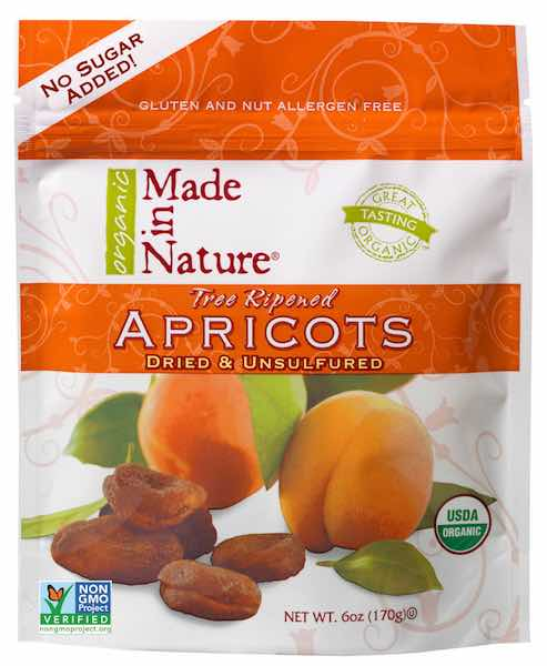 Made In Nature Product Apricots Printable Coupon