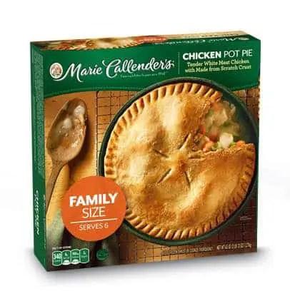 Marie Callender's Family Size Pot Pie Printable Coupon