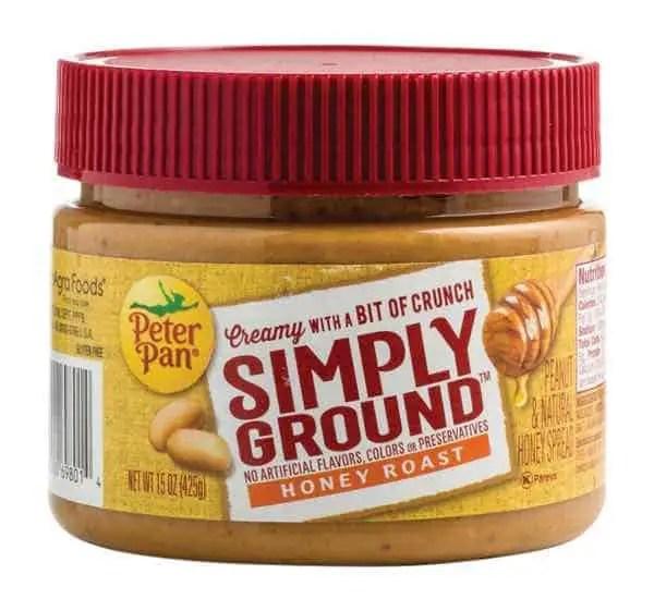 Peter Pan Simply Ground Peanut Butter 15oz