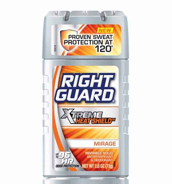 Right Guard Xtreme Heat Shield Printable Coupon