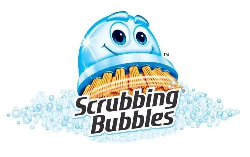 Scrubbing Bubbles Logo Printable Coupon