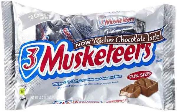 3 Musketeers Fun Size Bag Printable Coupon