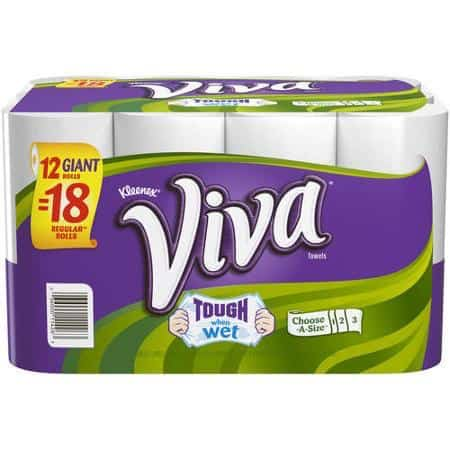 Viva Paper Towel 12pk Printable Coupon