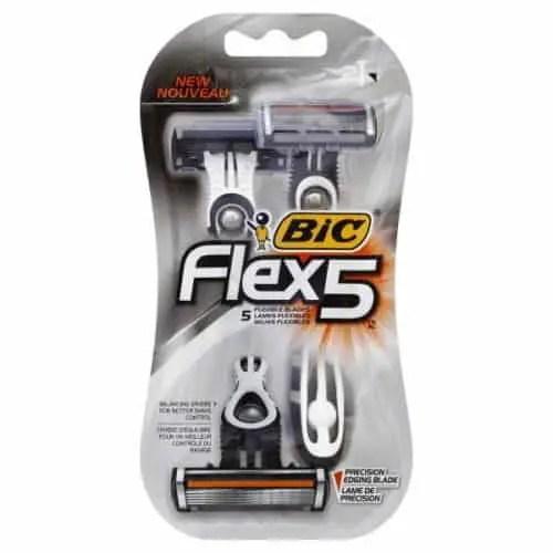 BIC Flex 5 Razors Printable Coupon