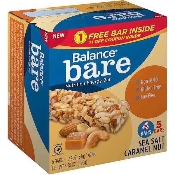 Balance Bar Value Pack Printable Coupon