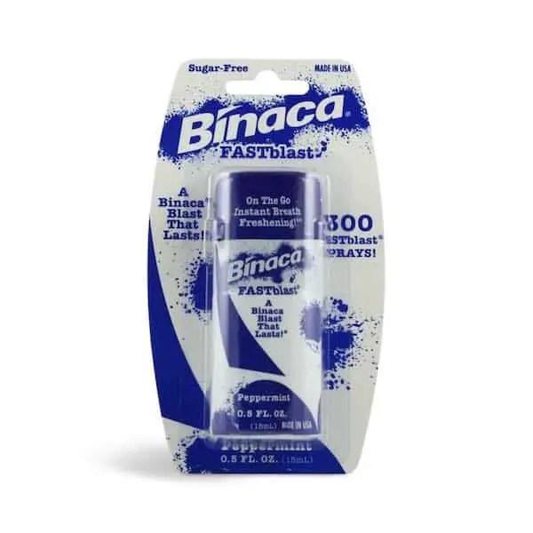 Binaca Aeroblast Breath Freshener Printable Coupon