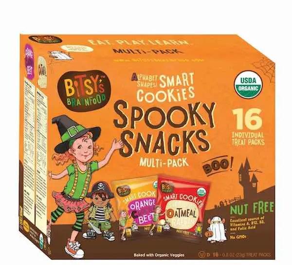 Bitsy's Brainfood Spooky Snacks Halloween Multi-Pack Printable Coupon