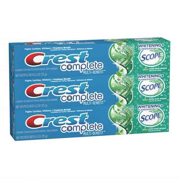 Crest Complete Paste Printable Coupon