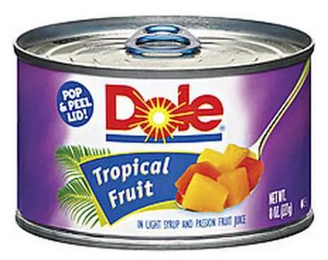 Dole Tropical Fruit Printable Coupon